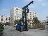 华南重工HNF135系列三级门架13.5吨叉车大批出口13.5吨重型叉车