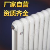 廠家自營金諾德鋼制暖氣片散熱器圓頭鋼二柱