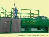 岩体喷播机作业, 华之睿喷播机械, KA喷播机