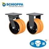 进口工业重型脚轮 单轮承重3800KG