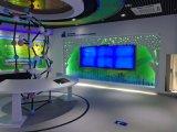 湖南长沙全息投影,虚拟迎宾,沉浸式VR,虚拟仿真,内投球幕,幻影成像