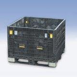 塑料箱式託盤加厚超大型網格箱式託盤周轉箱可折疊式卡板箱