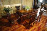 厂家直销 老船木古船木餐桌组合 复古中式实木餐桌组合