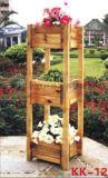 户外广场实木花箱  户外园林木制花箱  户外景区木制花箱