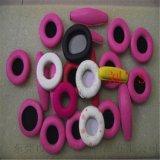 高端大气海绵耳机套 歌舞厅耳机海绵罩厂家常年生产