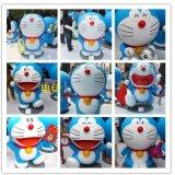 上海宏雕定制卡通动漫造型多啦A梦机器猫雕塑摆件道具