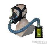 大视野防毒面具 过滤式防毒面具
