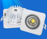 防眩光集成方形筒灯外壳2.5寸防水led灯配件厂家批发COB灯具外壳防水结构散热器套件