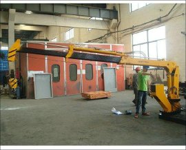 1吨水平定向钻附属吊机SQ1SB2T,非开挖水平定向钻