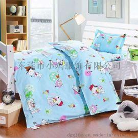 小雞廠家直供幼兒園被子三件套純棉兒童被褥全棉被套寶寶午睡嬰兒牀六件套