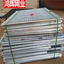 平面型压焊钢栅板 重型不规则钢格栅盖板