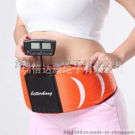 倍达康BK105 双功能甩脂机 最新款瘦身减 肥腰带 低频脉冲按摩仪
