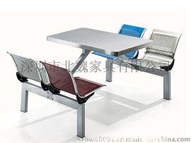 不鏽鋼快餐桌椅、快餐桌椅廠家、不鏽鋼餐桌椅生產商