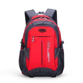 韩版新款大容量男士旅行双肩背包 休闲透气学生电脑书包 厂家批发