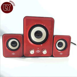 厂家直销 迷你2.1低音炮 采用自主研发低频芯片 高保真音效