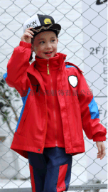 小鸡园服秋冬新款男女冲锋衣三件套套装