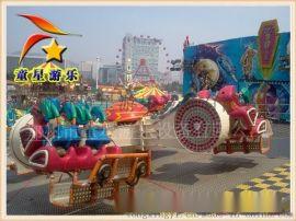 360度旋轉的景區遊樂設備霹靂搖滾-童星遊樂