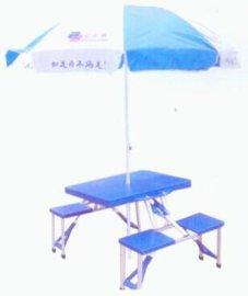 连体桌椅易携带折叠桌椅YH-LT