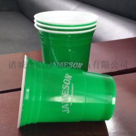 一次性450mlPS、PP双色杯、啤酒杯