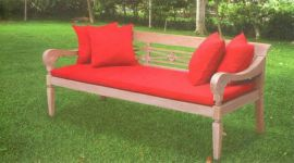 仿古鸦片实木床椅(GT-1302)