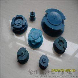 鹰潭市钢管管帽/DN110塑料堵头/塑料管帽定做