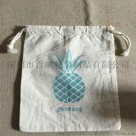 百顺定制 工厂定做 加厚 帆布束口袋抽绳袋棉麻布袋子收纳环保杂物袋大小定做现货