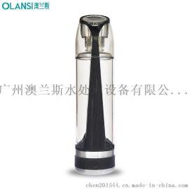 富氢水杯厂家OEM新款骑士玻璃杯高档魔法塑玻杯泡茶师户外运动水瓶一件代发