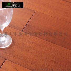 美家 缅甸柚木纯实木地板 耐磨防潮防水柚木全实木地板