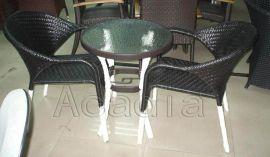 户外仿藤茶几桌椅(AC-RF08)