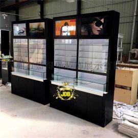 展示柜台眼镜柜台现代陈列柜展示柜手机配件钟表展示柜玻璃展示柜