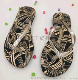 【厂家直销】女夏一字带夹趾人字拖 沙滩鞋 拖鞋 简约时尚百搭