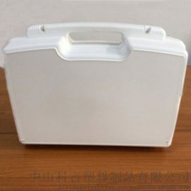 ky006 430*310*120mm 白色 供应优质环保烧考配件工具箱 电工配件手提塑料箱,航空配件安全防护箱