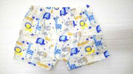 纯棉童裤生产、卡通图案儿童内裤