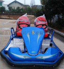 新款成人電動雙座卡丁車場地賽車LQY-081遊樂場專用卡丁車定做