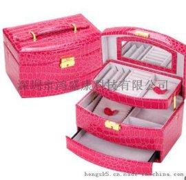 深圳东莞礼品皮壳皮盒 pu真皮牛皮包装盒子包定制加工厂家