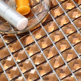 海南三亚高品质十三面镜玻璃马赛克堂碧馨马赛克厂家直销