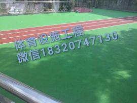 球场铺设/硅PU球场设计/塑胶运动地坪安装