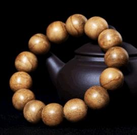 印尼加里曼丹沉香佛珠手链