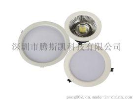 工业厂房LED筒灯120W嵌入暗装筒灯
