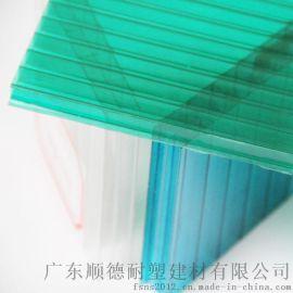 专业供应户外工程专用pc阳光板 坚固耐用pc板 节能环保