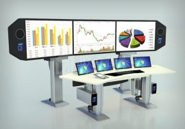 山西联众恒泰AOC-Z系列 调度指挥控制中心 智能控制台操作台定制设计 产品面向全国销售