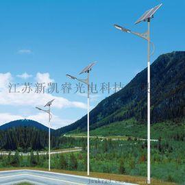 爆款新款led路灯A子臂高杆路灯农村乡镇道路太阳能路灯户外6米7米8米
