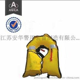 压缩空气式救生衣,江苏安华,充气救生衣