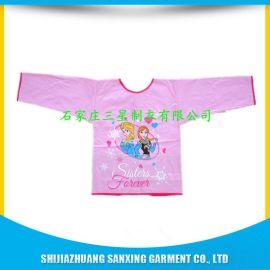 三星工厂生产儿童PVC画画围裙