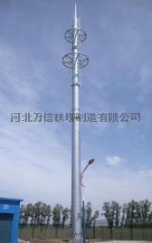 万信铁塔供应热镀锌钢管塔、热镀锌角钢塔、热镀锌避雷塔