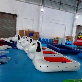 廠家直銷新款水上遊藝設施戲水玩具斑點狗模型