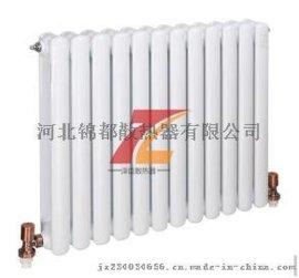 钢二柱暖气片 每片供多少平方米  泽臣