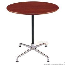 Eames洽谈圆桌 商务洽谈接待桌批发 设计师圆茶几定制