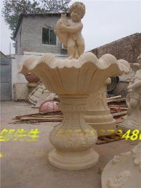 砂岩流水盘 人造砂岩流水盘雕塑 仿黄锈石砂岩流水盘雕塑厂家