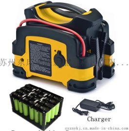 超低温正常使用锂电池汽车应急启动电源12V无线车载充气泵